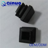 15のmm Qinuoの工場製造者の黒の白い四角のプラスチック帽子
