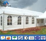 ロマンチックな結婚式のための安く白いアルミニウムフレームのおおい党テント
