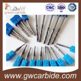 Flautas HRC45-50 55-60 del molino de extremo del carburo de tungsteno 2/3/4 65 68