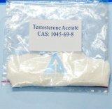Acetato de la testosterona del polvo de los esteroides de la hormona de la fuente de la fábrica (as de la prueba) para la aptitud