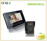 9 pouces Doorphone visuel avec l'interphone de garantie avec l'appareil-photo
