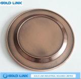 Piastra superiore di abitudine del piatto del ricordo del bronzo del pezzo fuso della lega di vendita
