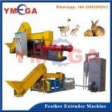 Diseño Avanzado automática de producción avícola de pollo aves de plumas Harina de extrusión Línea de Producción