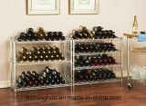 Estante de vinos comercial con 168 botellas Estantería Verde Epoxi Inicio