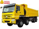 판매를 위한 Sinotruk HOWO 덤프 트럭 8X4 팁 주는 사람