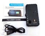 T12se磁気防水車GPSの追跡者の長い電池の寿命GSMおよび置き、追跡するGoogleのマップGPS