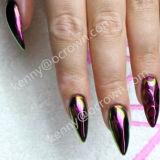 Entwurfs-herrliches Nagel-Kunst-Perlen-Pigment vervollkommnen