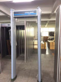 Caminata de 6 zonas a través de la caminata cilíndrica de la puerta del detector de metales a través de la puerta