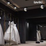 7With10With12W de LEIDENE van de MAÏSKOLF Lichte LEIDENE van het Spoor Schijnwerper met Zwart Wit voor Winkels, Kunstgalerie, toont Zaal, BinnenVerlichting