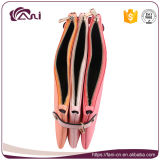 Fani 3 Kleuren verdubbelt de Beurs van de Portefeuille van de Vrouwen van de Ritssluiting met Uitstekende kwaliteit