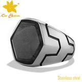 Новое кольцо перста нержавеющей стали 4 способа SSR-010