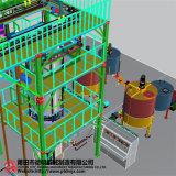 Automatische Verticale Machine 3 van het Schuim van het Polyurethaan het Teruggeven van D