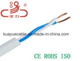 Câble de raccordement d'acoustique de connecteur de câble de transmission de câble de caractéristiques des câbles 1X2X0.5cu/d'ADSL
