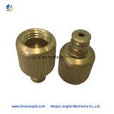 Vis en laiton / métal OEM non standard avec tête moletée d'usinage CNC