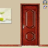 Дешевая и точная стальная дверь обеспеченностью (sh-037)