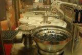 Automática Vial Pequeña Botella Botella de cristal líquido inyectable de relleno y tapar la máquina