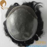 工場価格の人のための自然なヘアライン人間の毛髪の置換