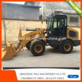 Fabrikant van China van de Lader van het Wiel van Jieli 4WD China van 1.5 Ton de Kleine