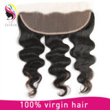 """Cheveux humains naturels Remy Brazilian Hair 4 """"* 13"""" Frontal Lace Closure"""
