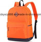 El estudiante de las compras del hombro que viaja de la manera doble del ocio se divierte el morral (CY3670)