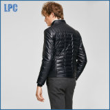 Black Casual Pakistan Men Leather Jacket