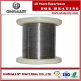 0,02 mm-10 mm de diámetro de alambre Cr20Ni80 Termo eléctrico Aleaciones de calentamiento por resistencia Elemento
