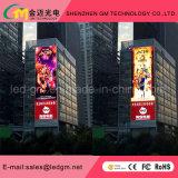 Forte visualizzazione di LED esterna di luminosità P10 SMD/DIP per la pubblicità audiovisiva