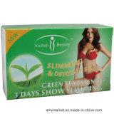 Забеливать Slimming мыло тела зеленого чая Aichun мыла для Slimming мыло потери веса
