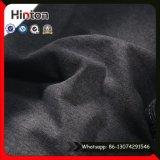 Tessuto del denim lavorato a maglia colore nero per i jeans