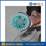Diamond Cup Wheels Used on Angle Grinder Grinding Concrete