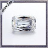 prezzo verde smeraldo del diamante di Crisscut Moissanite di rettangolo di colore di 6*8mm G/H