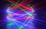 Acht Hoofden 8 Spin die van de Laser van Ogen RGB het HoofdLicht van de Laser bewegen
