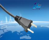 Europäerartiger elektrischer Netzkabel-Stecker 2.5A 250V VDE/Kema-Keur/Ove/Cebec usw.
