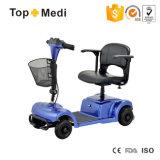 Vespa eléctrica desmontable plegable de la movilidad de cuatro colores para Handicapped