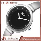 Handgelenk-Edelstahl-Rückseiten-Quarz-Uhr der Männer mit kundenspezifischem Firmenzeichen