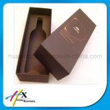 ハイエンドPUの革ワインの単一のびんの包装ボックス