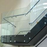De Frameless Aangemaakte Balustrade van uitstekende kwaliteit van het Glas voor Terras