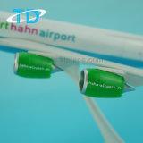 Aéroport modèle plat en plastique 37.6cm de Frankfur Hahn d'ABS de B787-8f
