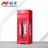 Het hoogwaardige MDF van de oud-Manier Chinese Rode Geval van de Gift van de Wijn