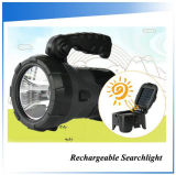 Potente 3W Solar Rechargeable Emergency Searchlight