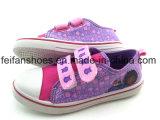 Chaussures occasionnelles de beaux de filles d'injection de toile enfants de chaussures (FFHH1230-08)