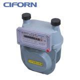 Medidor de gás de diafragma de caixa de alumínio G1.6-G10