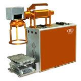 Профессиональный портативный гравировальный станок лазера металла