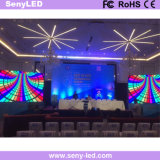 Videostadium der Leistungs-P4.81 Miet-LED-Bildschirm für das Bekanntmachen