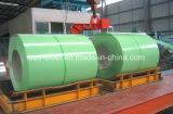 La qualité a enduit la bobine en acier galvanisée/PPGI d'une première couche de peinture coloré