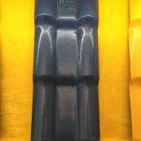 Azulejos de azotea plásticos acanalados del estilo de Kerala de la resina sintetizada del certificado de la ISO