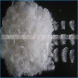 Piuma bianca dell'oca o dell'anatra che riempie per l'ammortizzatore del cuscino della tela di base