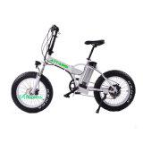 صاحب مصنع [20-ينش] [بورتبل] يطوى درّاجة كهربائيّة مع [لد] مصباح