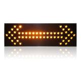 Panneau personnalisé de flèche du signe de route de circulation de 1500*600mm DEL
