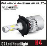 기관자전차 차 LED를 위한 S2 옥수수 속 H4 H13 LED 헤드라이트